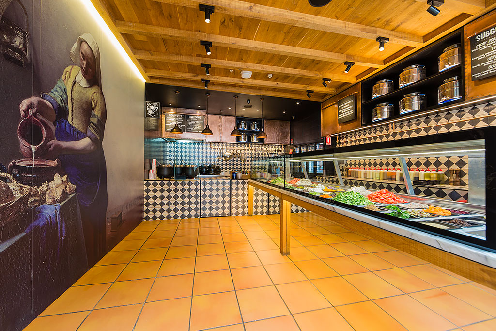 Stock Market Kitchen Sydney, Interior