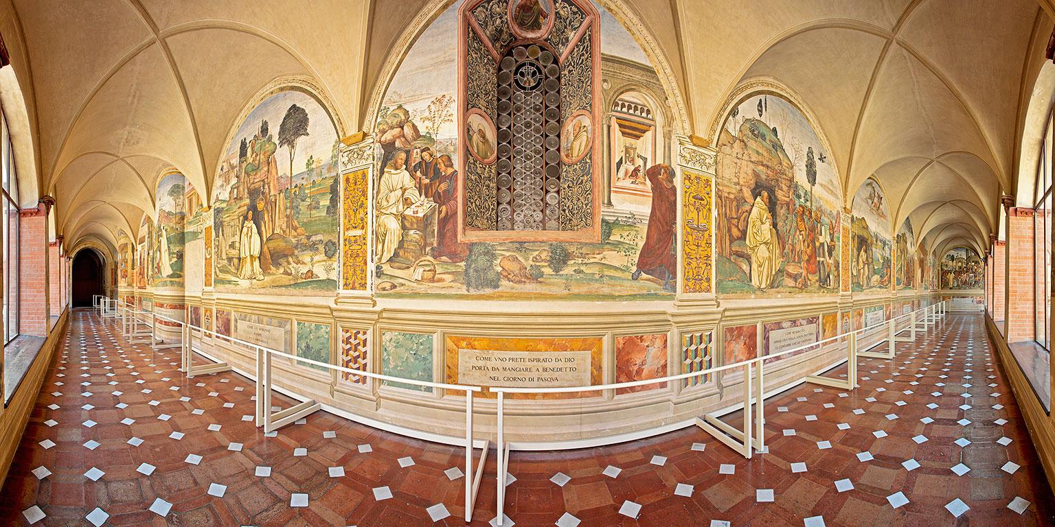 Ancient Abbey, interior