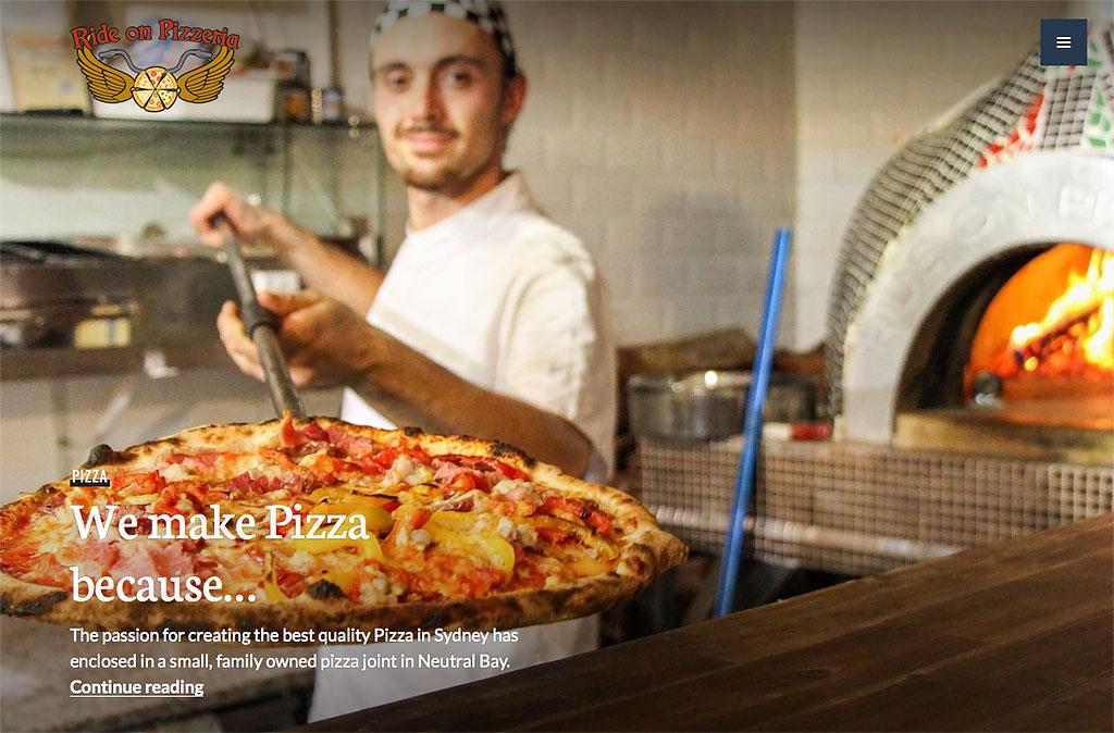 We make pizza because...