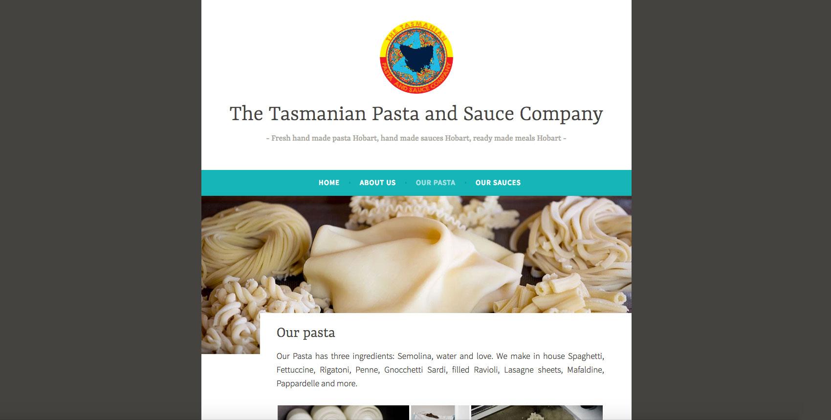 The Tasmanian Pasta and Sauce Company