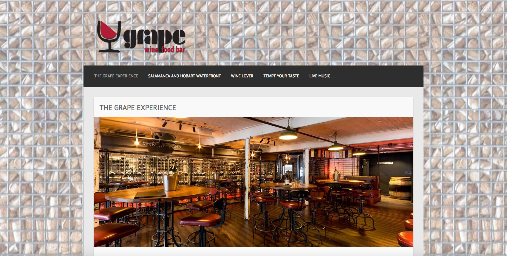 The Grape Wine and Food Bar